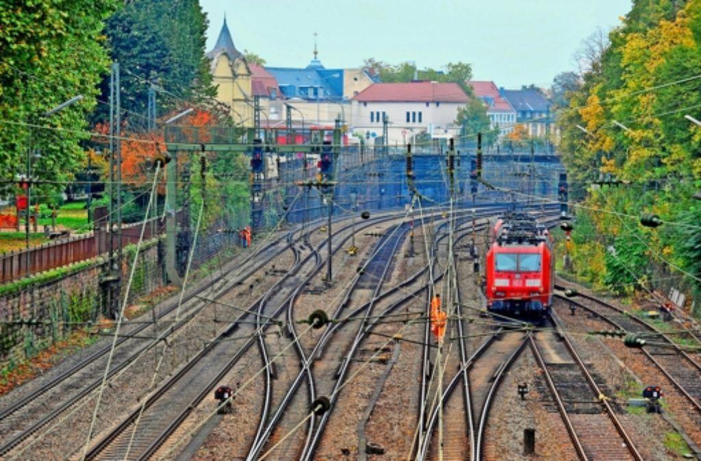 Durchs Rheintal führt eine wichtige transeuropäische Bahnverbindung. Foto: dpa