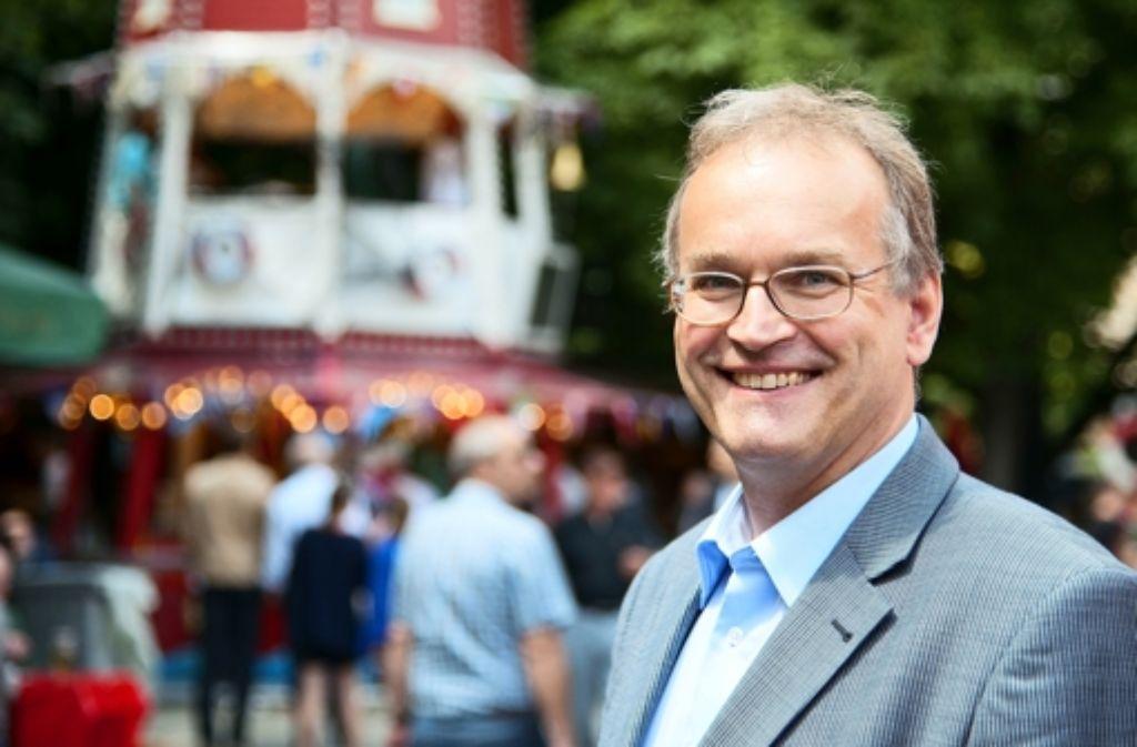 Matthias Keller, Geschäftsführer des Fischinformationszentrum Hamburg, Foto: Martin Stollberg