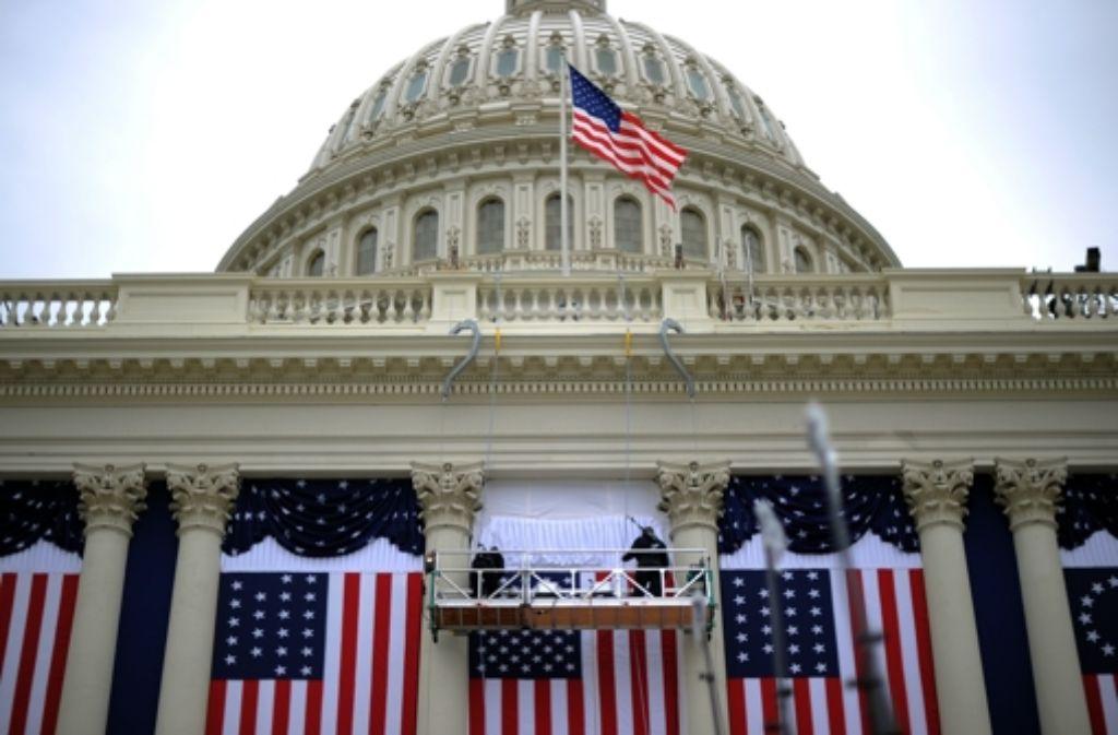 Die USA rüsten sich zur Inauguration Foto: AFP