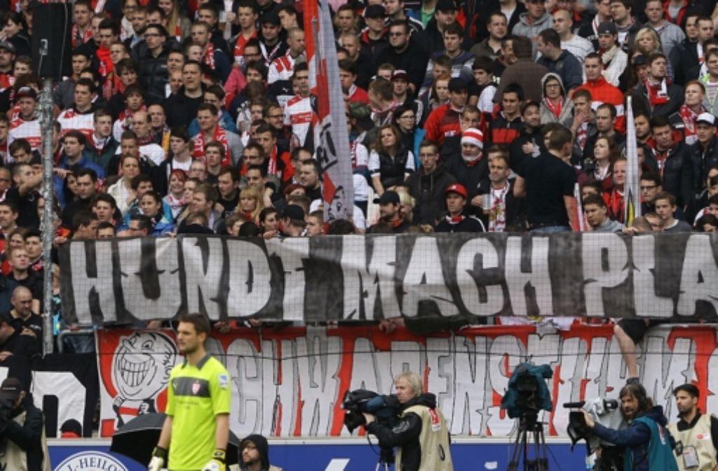 Dieter Hundt wird von vielen Fans kritisiert. Foto: Baumann
