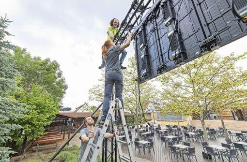 Biergärten in Böblingen erwarten Ansturm