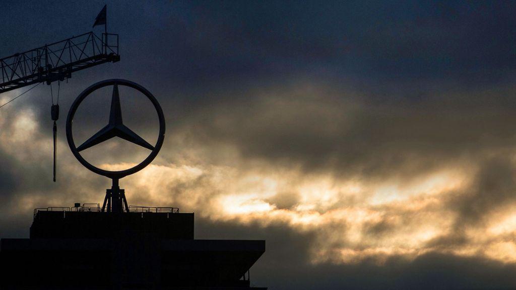 Der Diesel drückt auf die  Daimler-Bilanz