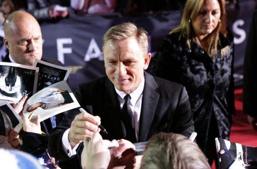 Ein James Bond friert nicht, Daniel Craig erst recht nicht