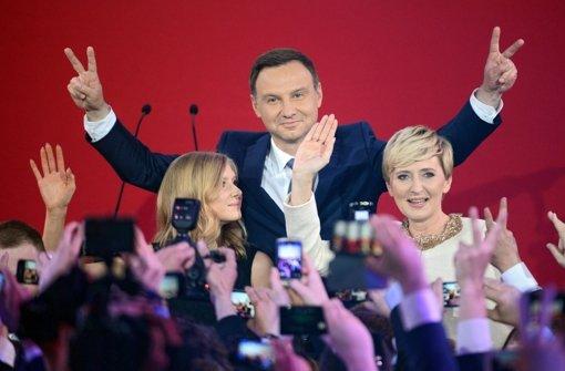 Andrzej Duda ist neuer Präsident