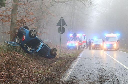 Unfall auf dem Weg zur Trauung