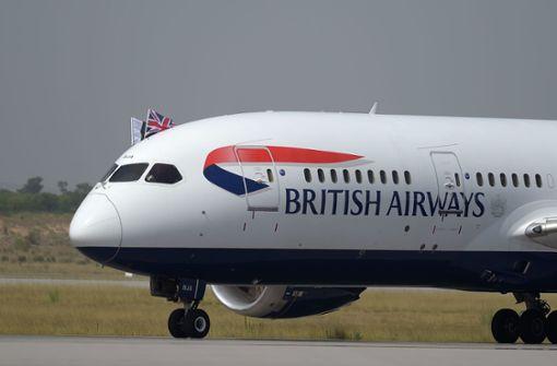 British Airways sagt fast alle Flüge ab