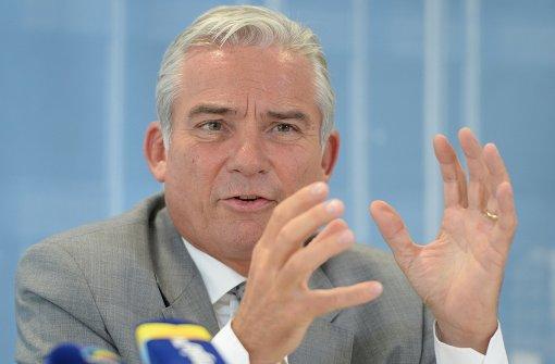 Innenminister Strobl bricht auf