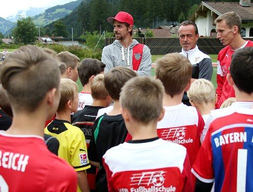 Der VfB vor dem Test gegen Rizespor