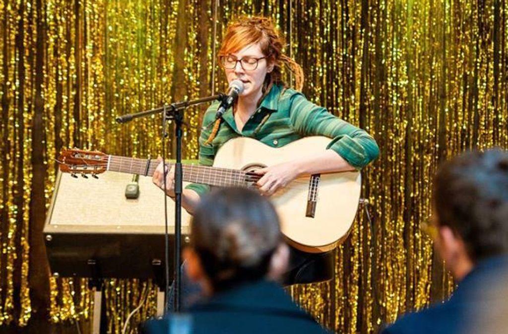 Am 2. Februar kommt die Sängerin zum Smooth Acoustic Festival ins Komma nach Esslingen.  Foto: Tobias Hannig