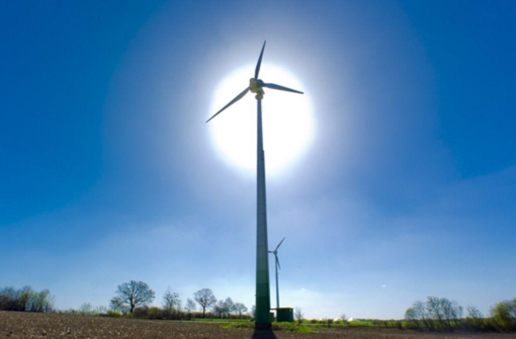 Je größer der Anteil an Ökostrom, desto wichtiger werden Zwischenspeicher. Foto: dpa