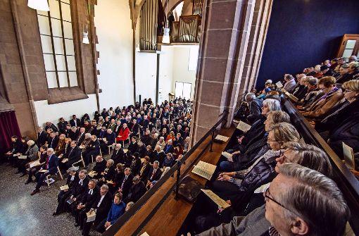 Die Hospitalkirche eröffnet mit einem Festgottesdienst
