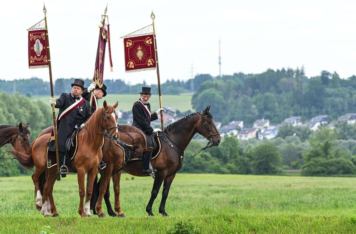 """Der """"Blutritt"""" in Weingarten hat eine lange Tradition (Archivbild). Foto: dpa/Felix Kästle"""