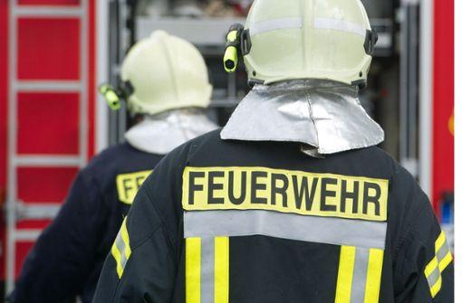 Zwei verletzte Feuerwehrleute bei Brand von Industriegebäude