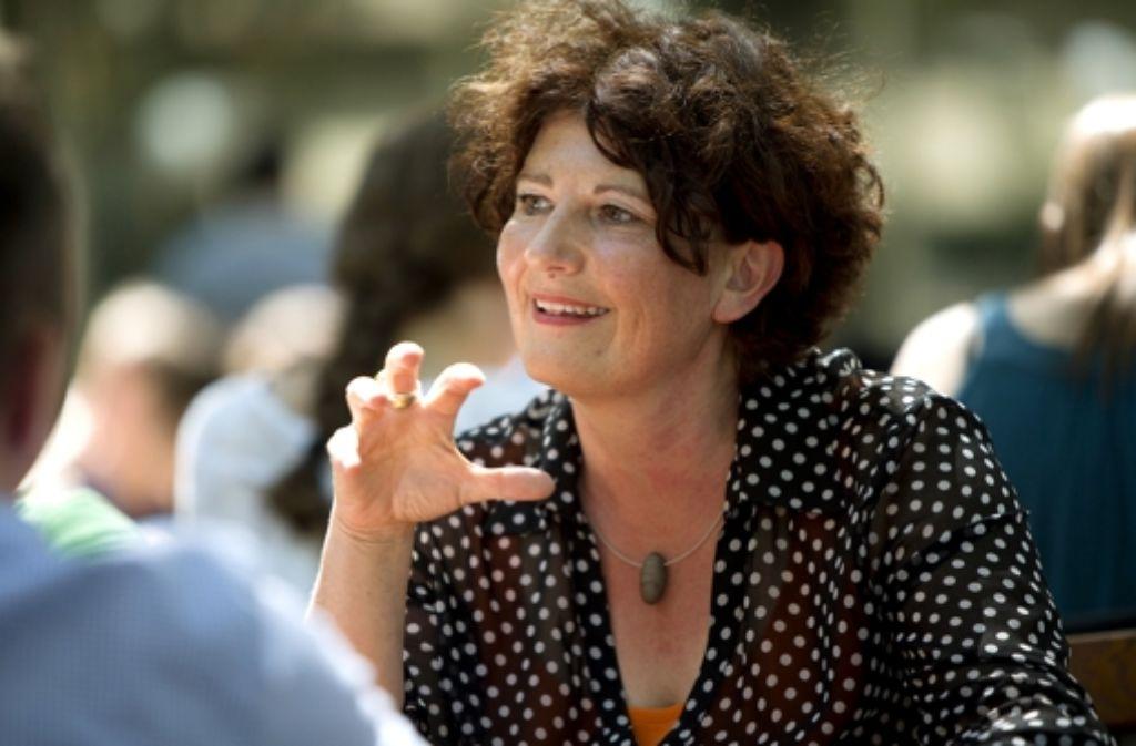 Bettina Wilhelm bewirbt sich um das Amt des Oberbürgermeisters in Stuttgart. Foto: Steinert