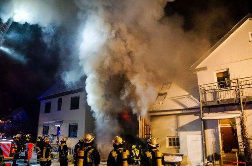 100.000 Euro Schaden bei Großbrand
