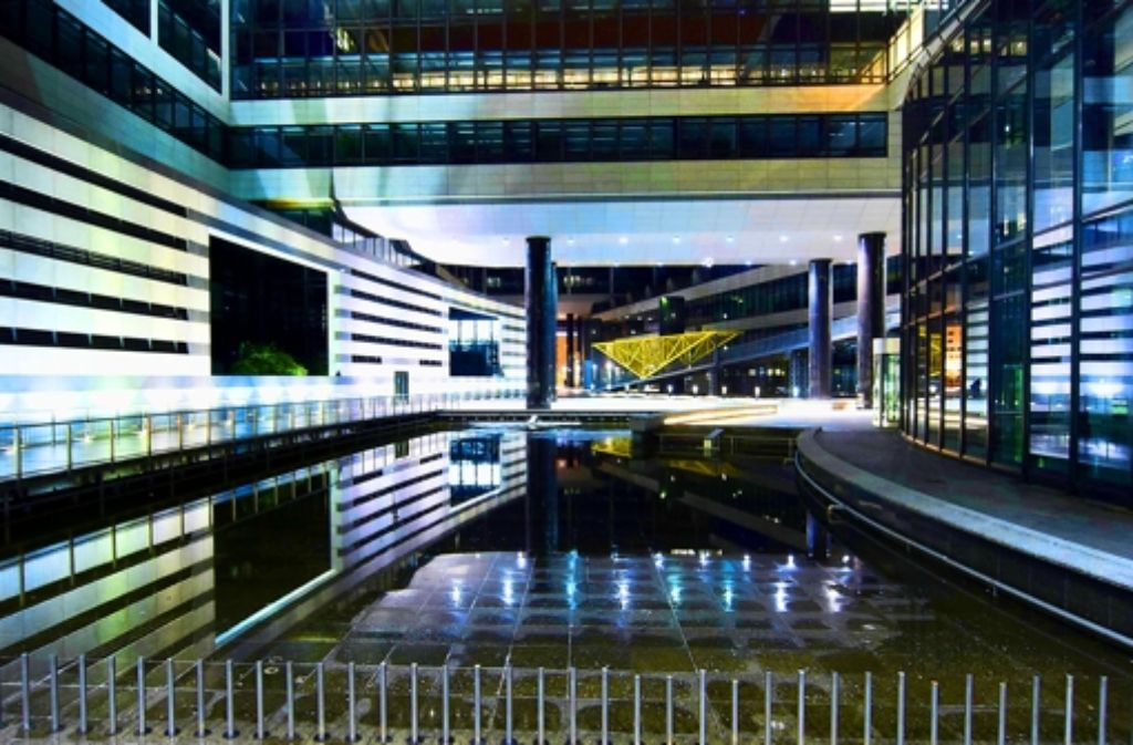 Nachts wird es einsam hinter dem Hauptbahnhof – also kafkaesk? Foto: Martin Stollberg
