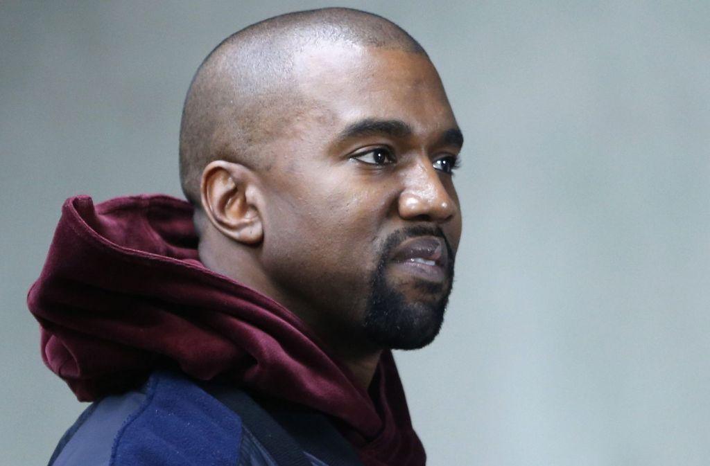 Rapper Kanye West liegt im Krankenhaus. Foto: dpa
