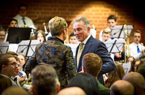 Der Ludwigsburger Landrat wird mit Frank Sinatra verabschiedet