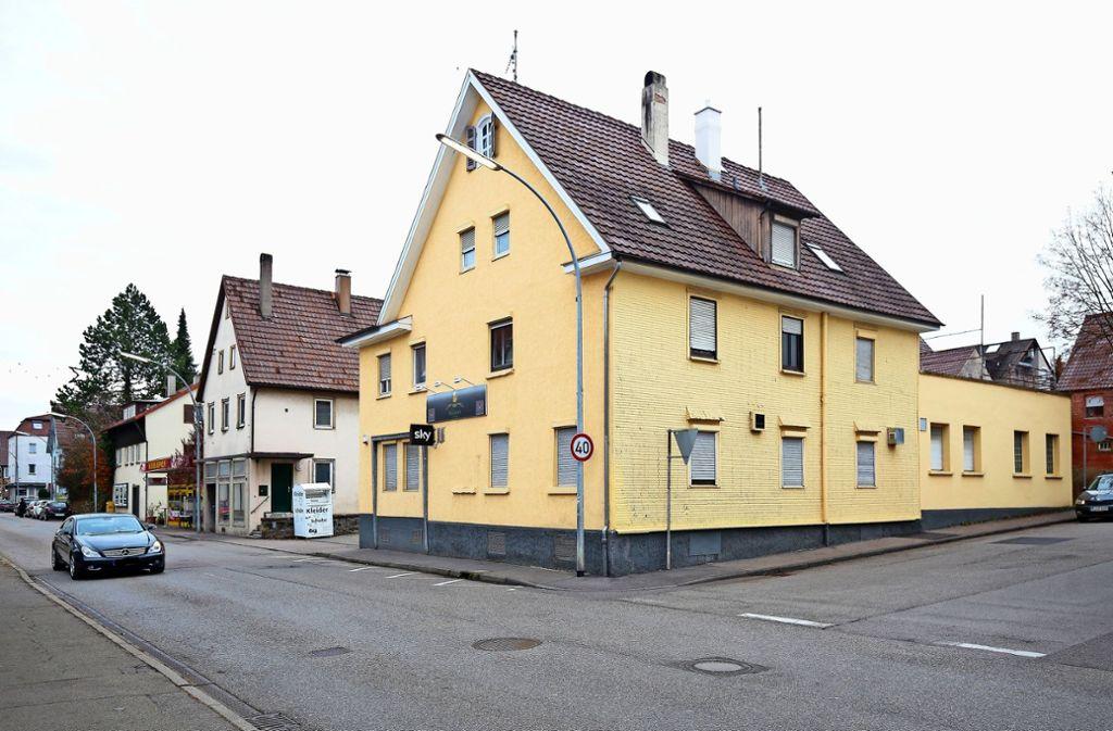In der Stuttgarter Straße  soll es Einzelhandel und  Wohnungen geben. Foto: factum