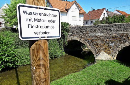 Illegal Wasser zu pumpen, kann teuer werden