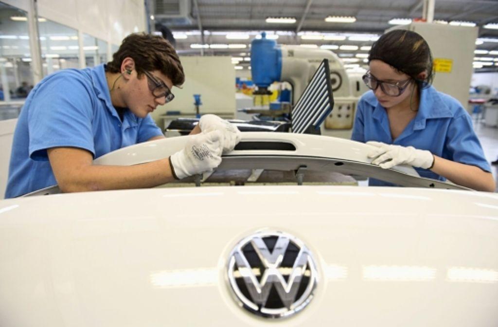 Bei der Kernmarke VW stockt der Absatz. Foto: dpa