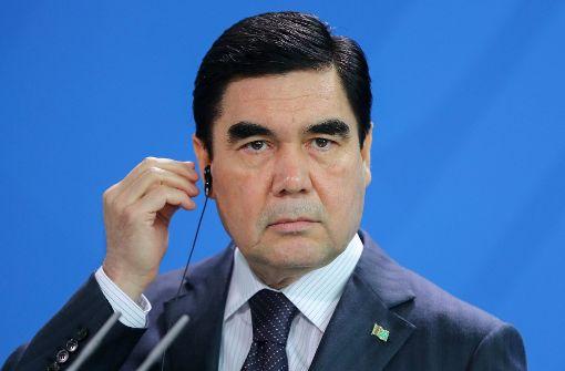 Berdimuhamedow mit 97,7 Prozent wiedergewählt