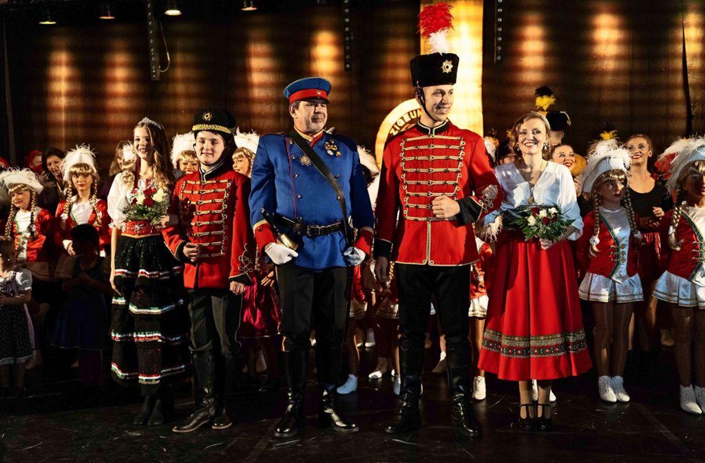 """Die Karnevalisten vom Verein """"Zigeunerinsel"""" begründen ihre Namenswahl mit ihrer Gründung auf dem Spitalacker. Dorthin wurden früher Roma und Sinti verbannt. Foto: Julia Schramm"""