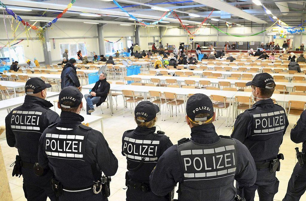Das Dach über dem Kopf darf Flüchtlingen – wie hier in Ellwangen – nicht entzogen werden, urteilte der EuGH. (Archivbild) Foto: dpa/Stefan Puchner