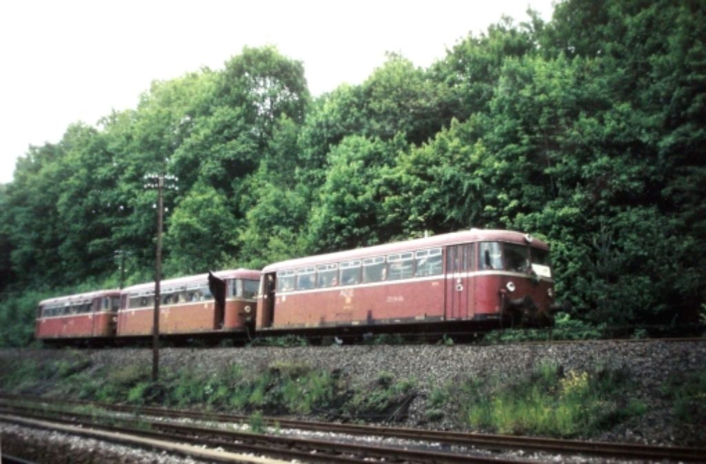 Die Kritiker einer reaktivierten Schwarzwaldbahn bis Renningen melden sich zu Wort. Foto: LKZ-Archiv