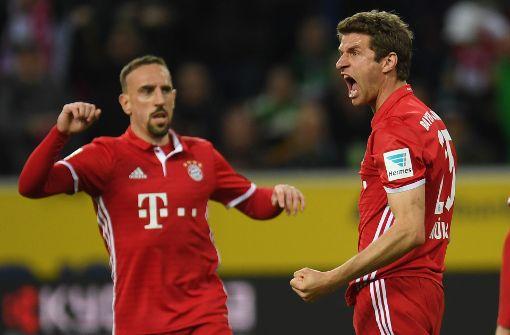Müller sorgt für Bayern-Sieg in Gladbach