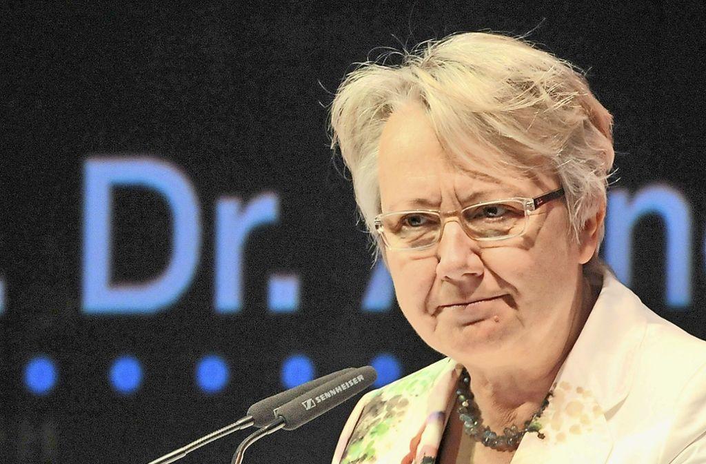 Bis Juni 2018 war Annette Schavan deutsche Botschafterin am Heiligen Stuhl in Rom. Foto: dpa
