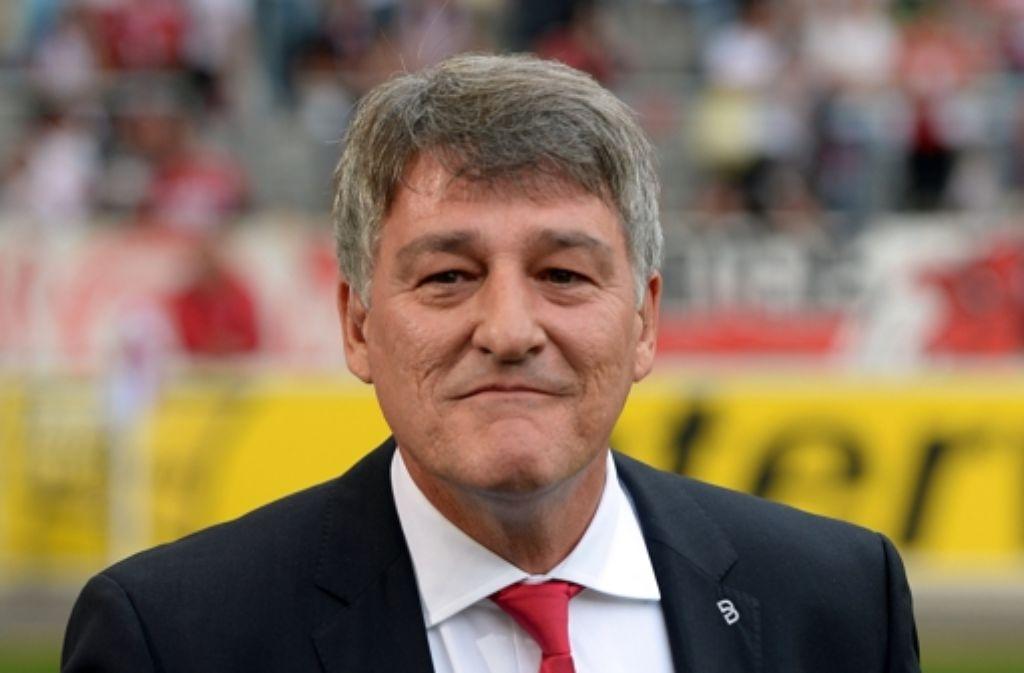 Der VfB-Chef Bernd Wahler hat mit dem Club noch einen weiten Weg vor sich. Stationen seiner Karriere sehen Sie in unserer Fotostrecke. Foto: dpa