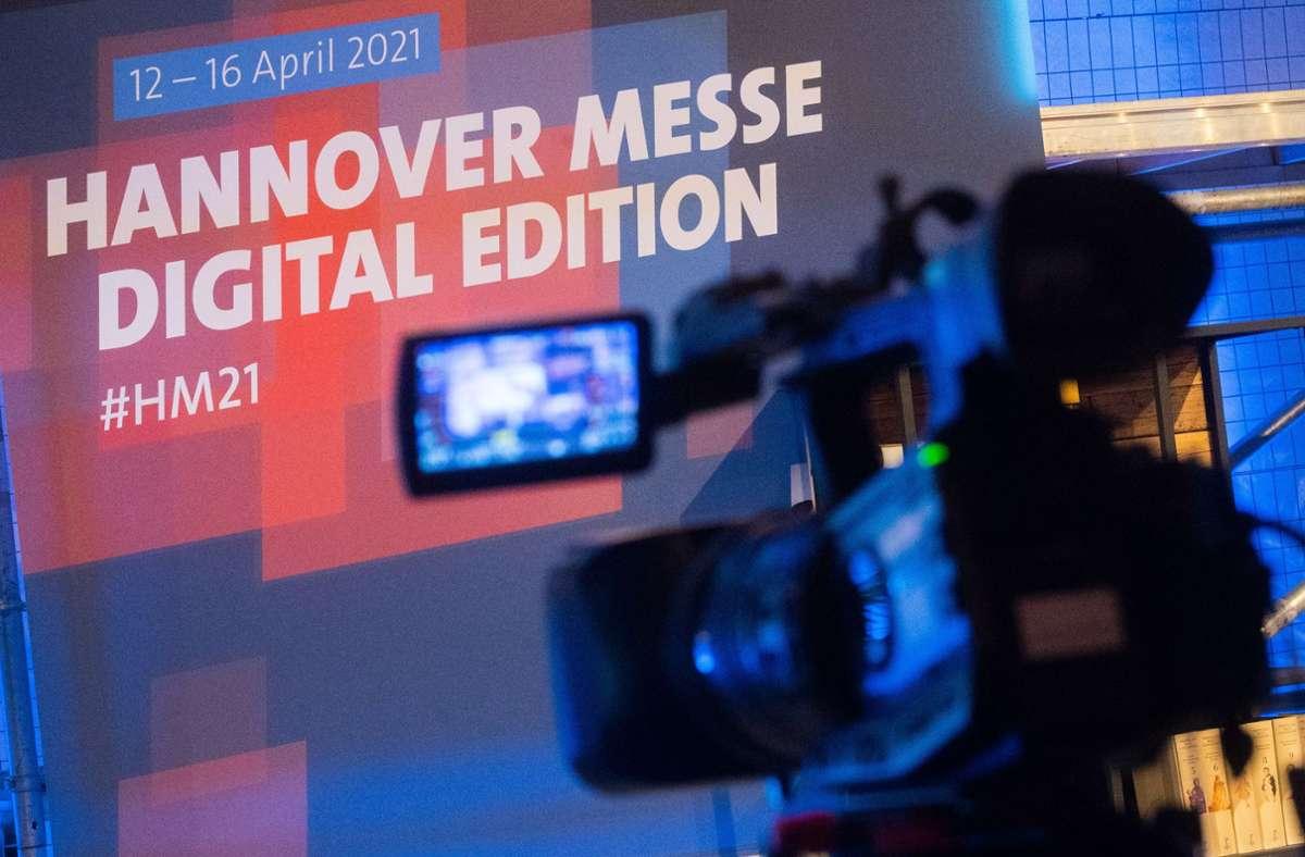 Die Hannover Messe wird in diesem Jahr digital veranstaltet. Foto: dpa/Julian Stratenschulte