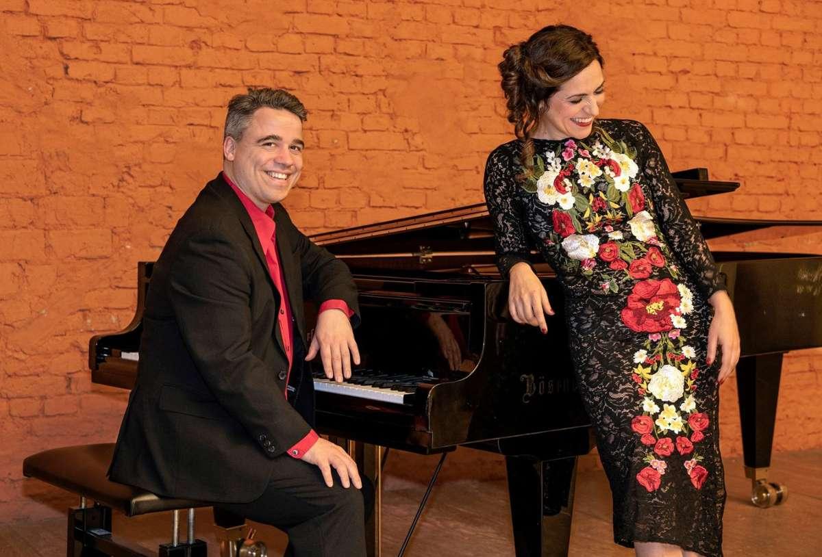 Anna Alàs i Jové und Alexander Fleischer musizieren am 18. Oktober in der Staatsgalerie Stuttgart. Foto: Martin Walz