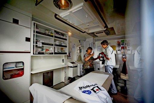Medizinische Brücke für die Ärmsten