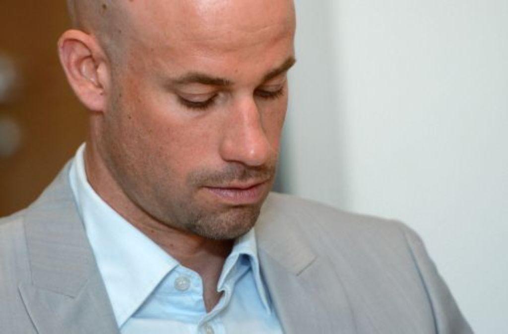 Vor dem Landgericht Stuttgart soll geklärt werden, ob Stefan Schumacher (Bild) Ex-Gerolsteiner-Teamchef Holczer betrogen hat, weil er bei der Tour de France 2008 Doping trotz Nachfrage abgestritten hatte. Foto: dpa