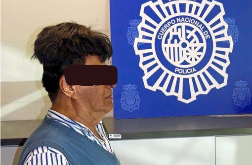 Kolumbianer versteckt Pfund Kokain unter seinem Toupet