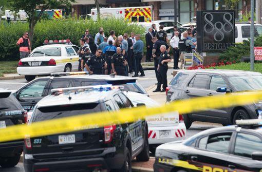 Schüsse in US-Zeitungsredaktion - Mehrere Tote