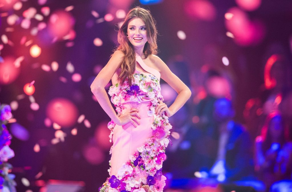 "Céline Bethmann aus Koblenz ist ""Germany's Next Topmodel"". Foto: dpa"