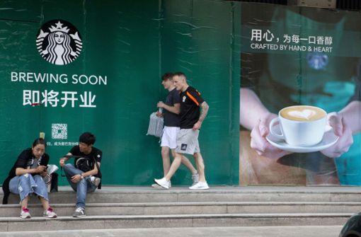 Chinesen entdecken den Kaffee