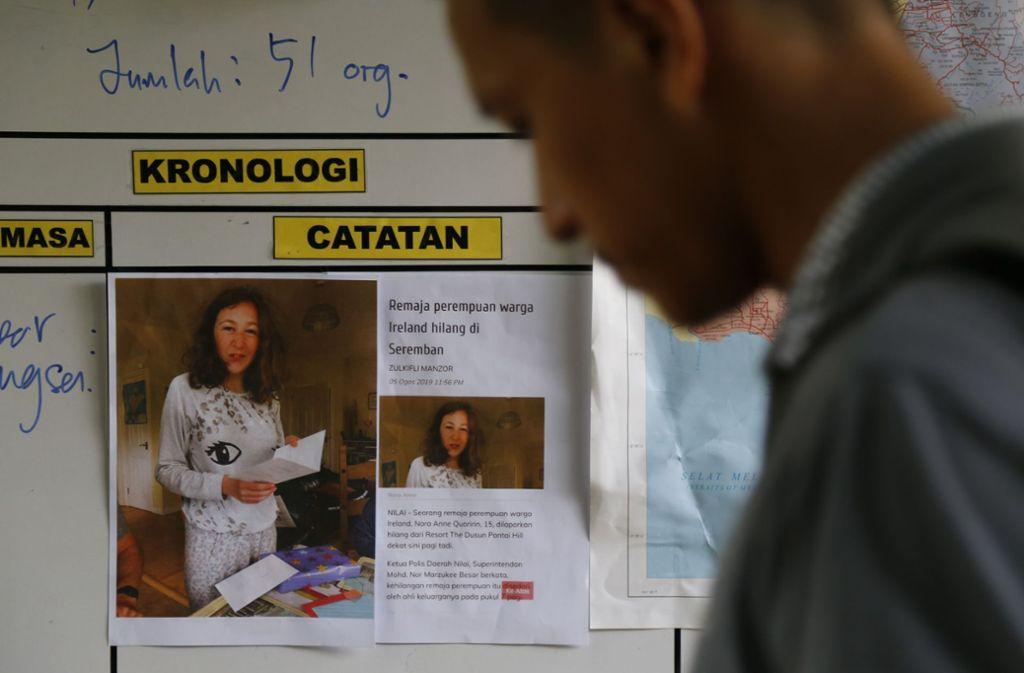 Das Mädchen wird seit Anfang August vermisst. Foto: Lai Seng Sin/AP/dpa