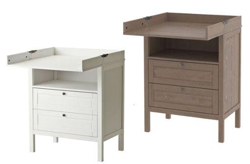 """Ikea ruft Wickeltisch """"Sundvik"""" zurück"""