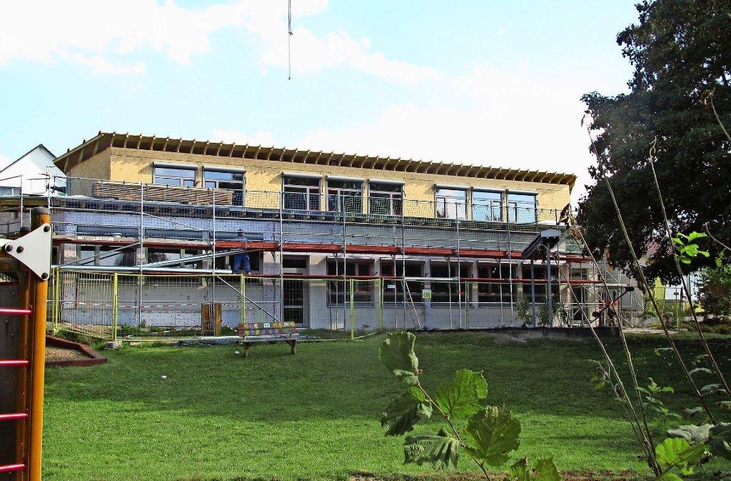 Die Sanierung des Kindergartens an der Goethestraße  wurde um einiges teurer. Foto: privat