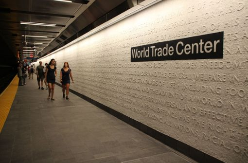 U-Bahn-Station am World Trade Center wieder auf
