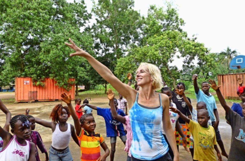 Heidi Rehse unterstützt Kinder und Jugendliche in  Armenvierteln weltweit. Foto: privat