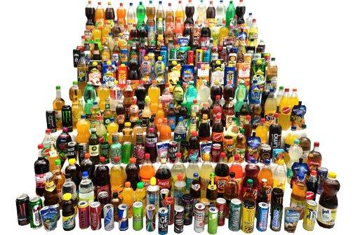Welche Getränke besonders viel Zucker enthalten