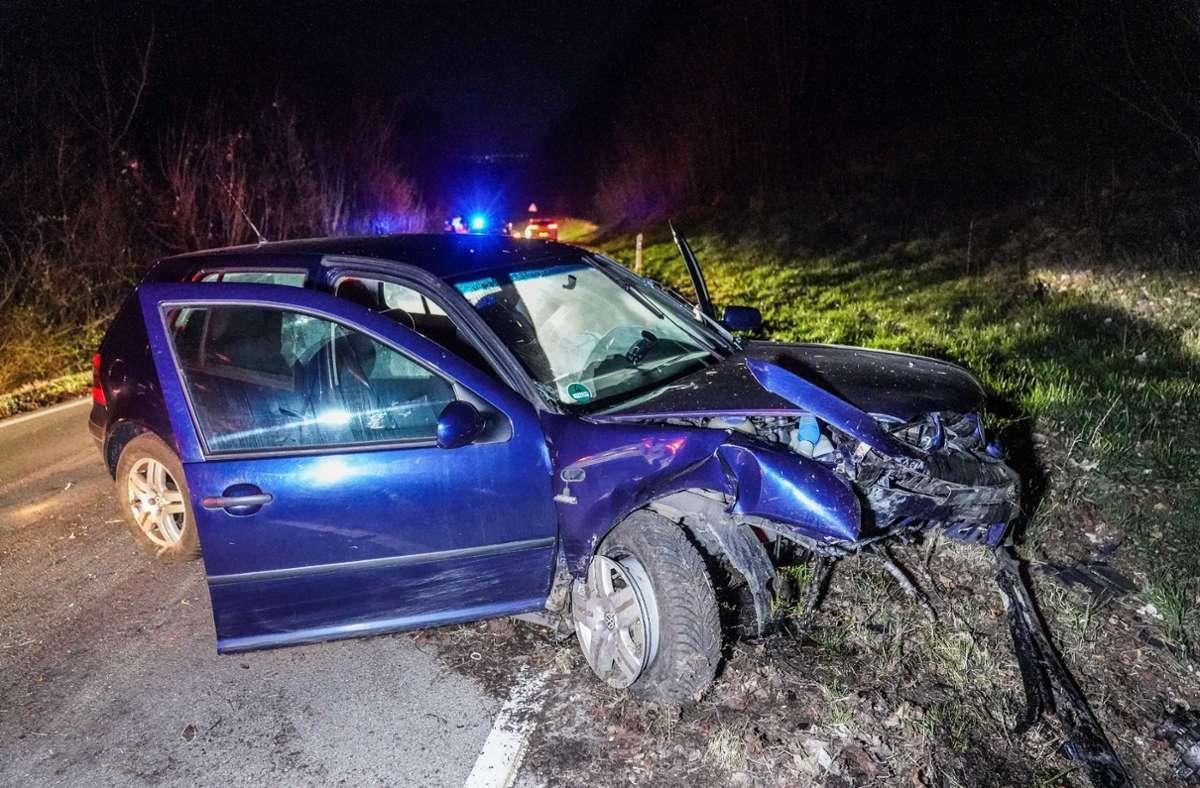 Das Fahrzeug der Fahranfängerin wurde stark beschädigt. Foto: SDMG/SDMG / Kohls
