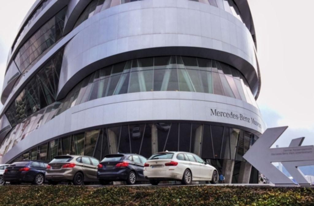 Parken Mercedes Benz Museum