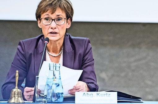 Sabine Kurtz wird Vizepräsidentin des Landtags