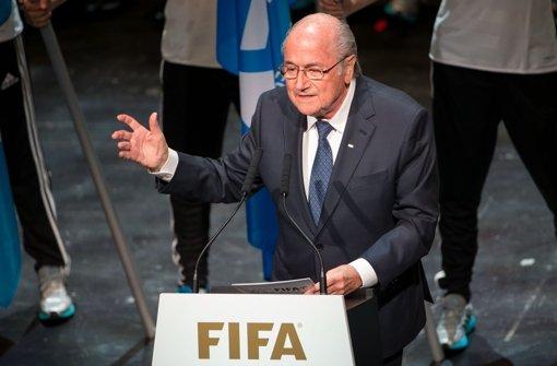 Schwierige Zeiten für die Fifa